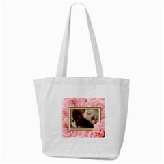 Roses For You Tote Bag By Deborah   Tote Bag (cream)   8p3dqwp23voa   Www Artscow Com Front