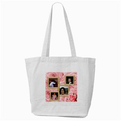 Roses For You Tote Bag By Deborah   Tote Bag (cream)   8p3dqwp23voa   Www Artscow Com Back