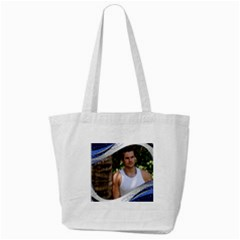 Blue Wave Tote Bag By Deborah   Tote Bag (cream)   Vmdgx7y0bwww   Www Artscow Com Front