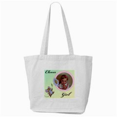 Clever Girl Tote Bag By Deborah   Tote Bag (cream)   Z4jxman913wo   Www Artscow Com Front