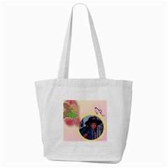 Clever Girl Tote Bag By Deborah   Tote Bag (cream)   Z4jxman913wo   Www Artscow Com Back