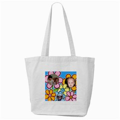 Flowers Tote Bag By Deborah   Tote Bag (cream)   Cdpxmnuhhi1f   Www Artscow Com Back