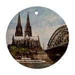 Cologne Round Ornament