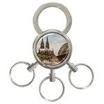 Cologne 3-Ring Key Chain