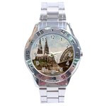 Cologne Stainless Steel Watch (Men s)
