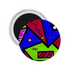 Modern Art 2 25  Button Magnet by Siebenhuehner