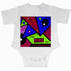 Modern Art Infant Creeper by Siebenhuehner