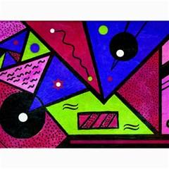 Modern Art Canvas 12  X 16  (unframed) by Siebenhuehner