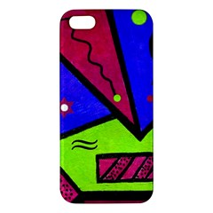 Modern Art Iphone 5 Premium Hardshell Case by Siebenhuehner