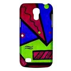 Modern Art Samsung Galaxy S4 Mini Hardshell Case  by Siebenhuehner