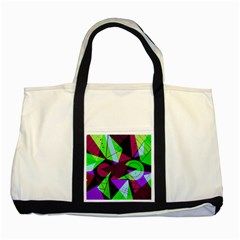 Modern Art Two Toned Tote Bag by Siebenhuehner