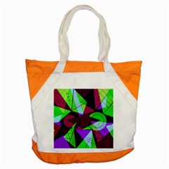 Modern Art Accent Tote Bag by Siebenhuehner