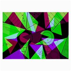 Modern Art Glasses Cloth (large) by Siebenhuehner
