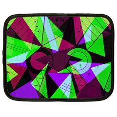 Modern Art Netbook Case (xl) by Siebenhuehner