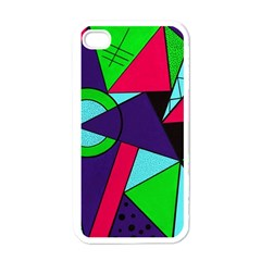 Modern Art Apple Iphone 4 Case (white) by Siebenhuehner
