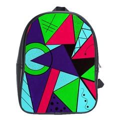 Modern Art School Bag (xl) by Siebenhuehner