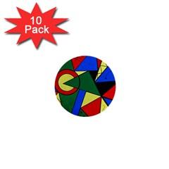 Modern Art 1  Mini Button (10 Pack) by Siebenhuehner