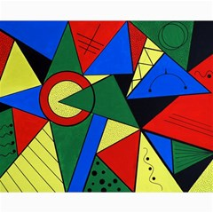 Modern Art Canvas 16  X 20  (unframed) by Siebenhuehner