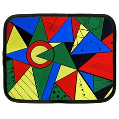 Modern Art Netbook Case (xxl) by Siebenhuehner