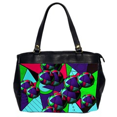 Balls Oversize Office Handbag (two Sides) by Siebenhuehner