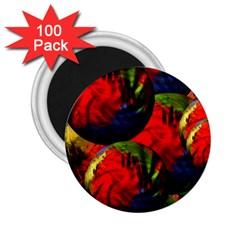 Balls 2.25  Button Magnet (100 pack) by Siebenhuehner