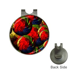 Balls Hat Clip With Golf Ball Marker by Siebenhuehner