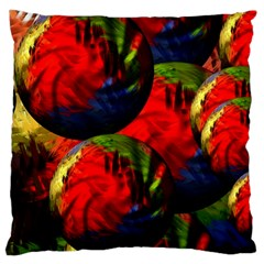 Balls Large Cushion Case (single Sided)  by Siebenhuehner