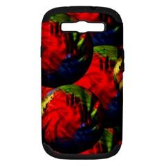 Balls Samsung Galaxy S Iii Hardshell Case (pc+silicone)