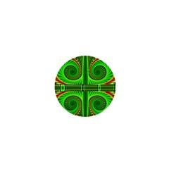 Design 1  Mini Button Magnet by Siebenhuehner