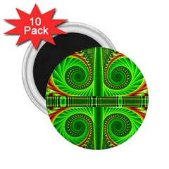 Design 2 25  Button Magnet (10 Pack) by Siebenhuehner