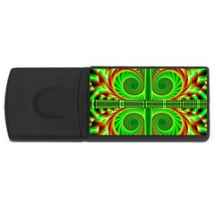 Design 4gb Usb Flash Drive (rectangle) by Siebenhuehner