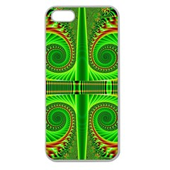 Design Apple Seamless Iphone 5 Case (clear) by Siebenhuehner