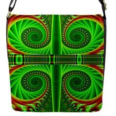 Design Flap Closure Messenger Bag (small) by Siebenhuehner