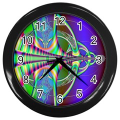 Design Wall Clock (black) by Siebenhuehner