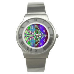 Design Stainless Steel Watch (unisex) by Siebenhuehner