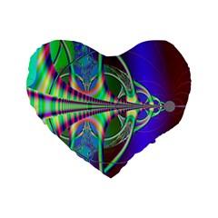 Design 16  Premium Heart Shape Cushion  by Siebenhuehner