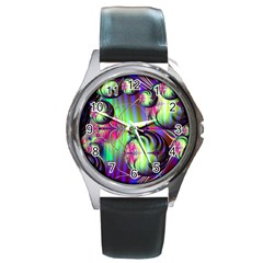 Balls Round Metal Watch (silver Rim) by Siebenhuehner