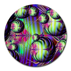 Balls 8  Mouse Pad (round)
