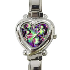Balls Heart Italian Charm Watch  by Siebenhuehner