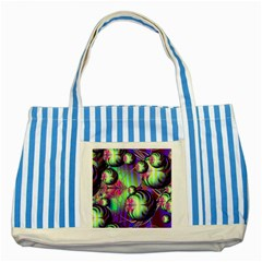 Balls Blue Striped Tote Bag by Siebenhuehner