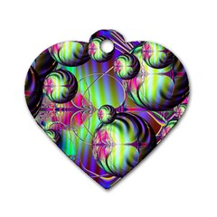 Balls Dog Tag Heart (two Sided) by Siebenhuehner