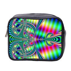 Modern Art Mini Travel Toiletry Bag (two Sides) by Siebenhuehner
