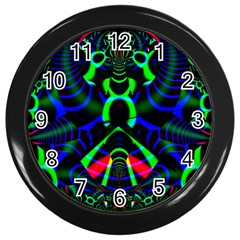 Dsign Wall Clock (black) by Siebenhuehner