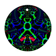 Dsign Round Ornament (two Sides) by Siebenhuehner