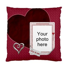 You And Me Cushion Case (2 Sides) By Lil    Standard Cushion Case (two Sides)   Kqzsbysja1u9   Www Artscow Com Front