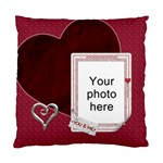 You and Me Cushion Case (2 Sides) - Standard Cushion Case (Two Sides)