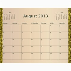 Mom Final By Terry   Wall Calendar 11  X 8 5  (12 Months)   Eaxgx8h0k9ek   Www Artscow Com Aug 2013