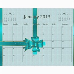 Mom Final By Terry   Wall Calendar 11  X 8 5  (12 Months)   Eaxgx8h0k9ek   Www Artscow Com Jan 2013