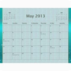 2013 Final By Terry   Wall Calendar 11  X 8 5  (12 Months)   Elkp8ibittec   Www Artscow Com May 2013