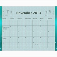 2013 Final By Terry   Wall Calendar 11  X 8 5  (12 Months)   Elkp8ibittec   Www Artscow Com Nov 2013